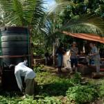 Installing Supergas system, Zanzibar